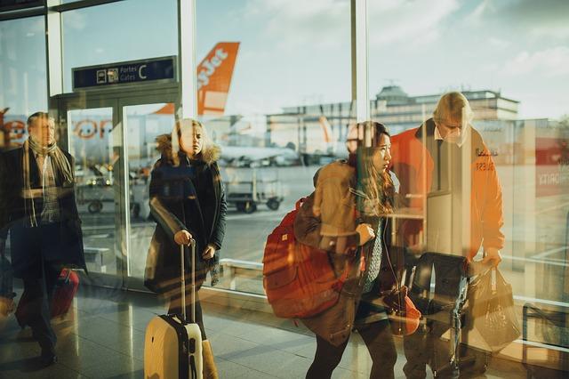 viajar en avión aeropuerto